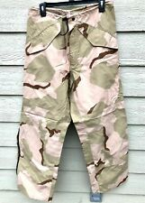 USGI ECWCS GORE-TEX COLD WEATHER DESERT CAMOUFLAGE PANTS - SMALL REGULAR.