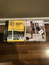 Gold's Gym Vinyl Dumbbell Weightlifting Set, 40 lbs - Brand New - Fast Shipping