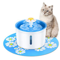 1.6L Pet Dog Cat Water Automatic Feeder Fountain Dispenser Ultra Silent Drinking