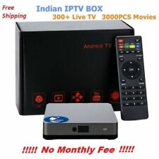 No Monthly Fee 2018 Indian IPTV Box support Indian Live TV channels Support HD