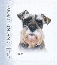 Finland 2005 MNH - Schnauzer Dog Pet - Issued April 6, 2005