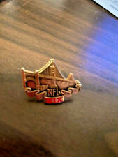 SUPER BOWL 19 NFL MEDIA PRESS PIN NEW IN PACKAGE MINT 49ers DOLPHINS  #0959