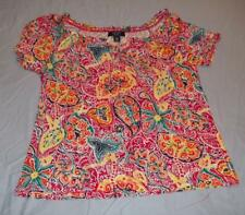 New Chaps Women's short sleeve top size petite M