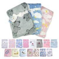 Baby Blankets | Moses Basket Blanket | Pram Blanket | Soft Fleece | Baby Shower
