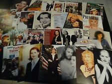Geena Davis  50+ full pages   Clippings