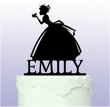 Fairy Princess Acrylic Cake Topper - Girls Birthday - fairytale