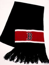 BOSTON RED SOX OFFICIALLY LICENSED KNIT STRIPED SCARF