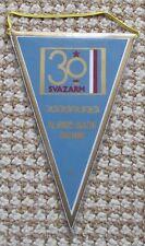 1981 Svazarm Czech Paramilitary Organisation 30th Anniversary Pennant Flag