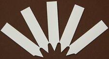 Stecketiketten 250 Stk 6cmx1,2cm für Anzucht - Aussaat