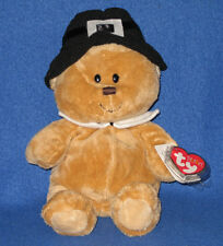 LIL PILGRIM the BEAR - TY PLUFFIES - MINT TAGS - BARNES and NOBLE EXCLUSIVE