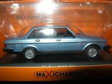 1:43 MAXI Champs VOLVO 240 GL 1986 Blue/Blu N. 940171400 OVP