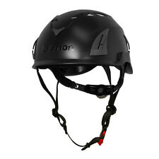Fusion Climb Meka II Climbing Bungee Zipline Safety Protection Helmet Black