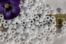 3/0 Toho Seed Beads 13- Opaque White  28 grams # 41