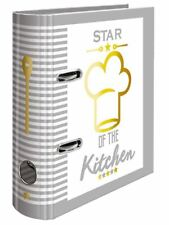 "HERMA Rezepteordner ""Star of The Kitchen"" DIN A5 Küchenordner Kochen + Register"