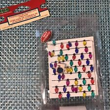 Lemax village collection 4 Ft plastic lite garland new retired 2003 Please Read