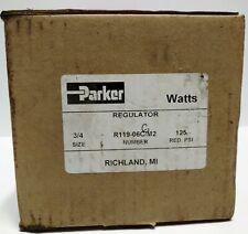 Parker R911-06CGM2 Regulator with Gauge