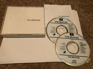 The Beatles 2 Disc CD Set White Cover MUST SEE