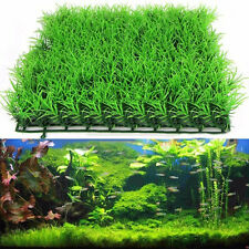 Artificial Fake Water Aquatic Green Grass Plant Lawn Decor Fish Tank Landscape