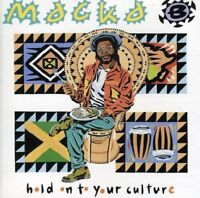 MACKA B - HOLD ON TO YOUR CULTURE   CD NEW!