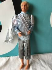 Barbie Ken Doll Prince Daniel Swan Lake With Outfit