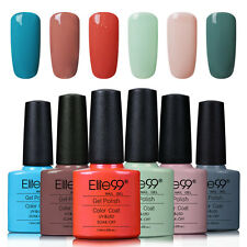 Elite99 UV LED Nagellack Gel Polish Farbgel Nagelgel Gellack 6 Farben Set 12