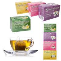 72 Set Tea Bags Sampler 100% Premium Flavor Herbal Chamomile Peppermint Cinnamon