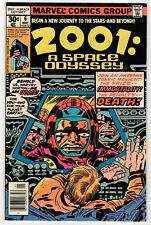 Marvel - 2001: A Space Odyssey #6 - Kirby Cover & Art Vf May 1977 Vintage Comic