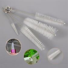 4 Pcs Nylon Straw Brush Cleaner Bottle Tube Pipe Small Long Cleaning