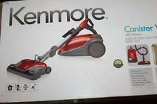 Kenmore 400 Series Bagged Canister Vacuum  Red 20 81414