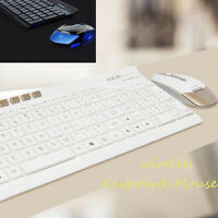 Wireless 2.4GHz USB Gaming Keyboard and Mouse Combo Set For PC Laptop Gamer Mice