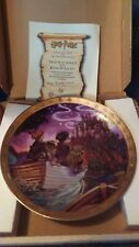 Harry Potter Compton and Woodhouse Wall Plate with Box journey to Hogwarts