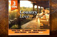 Country Love, Tommy Cash, Liz Anderson, Melba Montgomery, Johnny ....  -  CD, VG