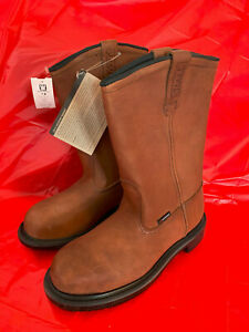 Red Wing Shoes Men's Waterproof Pecos Western Leather Work Boots 4445 Size 7 D
