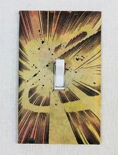 Atomic Fireball Explosion Custom Wall Light Switch Plate - Comic Book Marvel DC