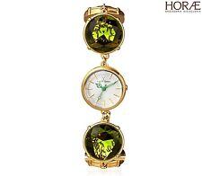 Orologio donna TOY WATCH collezione TOYCANDY pietre verdi oro giallo bracciale
