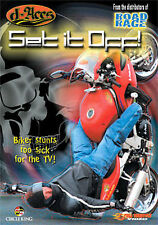 D-Aces Set It Off (DVD, 2007) Cycle Stunts Too Sick For TV!