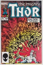 Thor #344 NM- 9.2 First Appearance Of Malekith The Accursed!