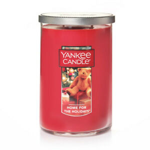 ☆HOME FOR THE HOLIDAYS☆YANKEE CANDLE LARGE TUMBLER 22 OZ FREE SHIPPING☆CHRISTMAS