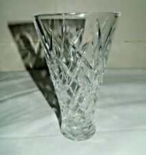 Vera Wang by Wedgwood Duchesse Encore 7 Inch Crystal Vase Made in Germany