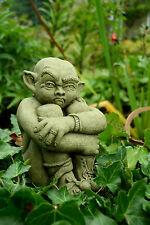 Stone Garden Ornament Gargoyle (Hugo the Watchman)