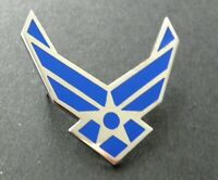 USAF AIR FORCE CUT OUT LARGE WINGS LAPEL PIN BADGE 1.5 INCHES