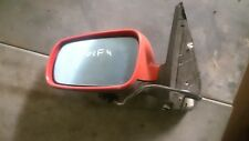 VW Golf-4 MK4 Bora /98-04 Left Side Electric Heated Door Mirror Tornado Red