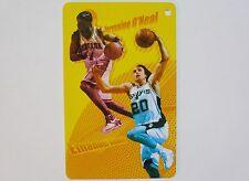 NBA Indiana Pacers JERMAINE O'NEAL & San Antonio MANU GINOBILI Basketball Card