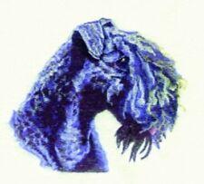 Embroidered Fleece Jacket - Kerry Blue Terrier Bt3603 Sizes S - Xxl