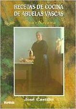 Recetas de cocina de abuelas vascas (Araba/Nafarroa). ENVÍO URGENTE (ESPAÑA)