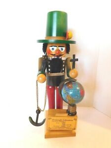 Vintage Steinbach Christopher Columbus Nutcracker - German7 S697