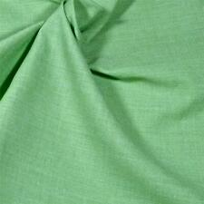 Superb Dressmaking Fabric, A Lovely Shade of Green, Cotton Blend, Per 1/2 Yd