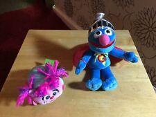"Gund Super Grover 7"" & Abby Cadabby Tsum Tsum  Plushes"