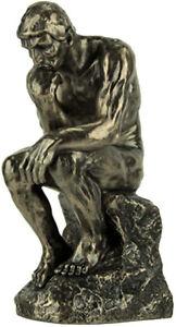 The Thinker Statue veronese Figurine 25cm(H) x 11cm(W) x 13cm(D)