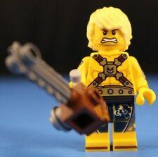 LEGO CHAINSAW DAVE Minifigure from SET #70840 The LEGO Movie 2 Apocalypseburg